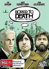 BORED TO DEATH: SEASON 1 (Jason Schwartzman,Zach Galifianakis,Ted Danson) 2 DVDs