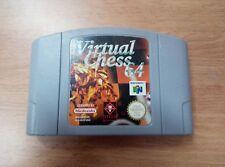 Virtual Chess 64 - Nintendo 64 - N64 - PAL EUR-