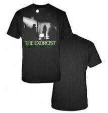 THE EXORCIST 1973 Horror Movie Adult BLACK COTTON Short Sleeve T SHIRT XL New