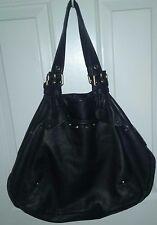 Marc Jacobs Leather Shoulder Bag Classic Purse - Black