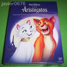 LOS ARISTOGATOS CLASICO DISNEY 20 EDICION ESPECIAL EN DVD Y CUENTO ILUSTRADO