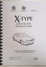 JAGUAR X TYPE 2003 - 2004 GUIDA ELETTRICO MOTORI 2.0L 2.5L 3.0L