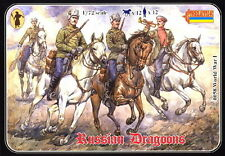Strelets-R 1/72 058 WWI Russian Dragoons (12 Mounted Figures)