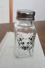 Pembroke Corgi Glass Salt Shaker  -  NEW -  MUST L@@K! Last One