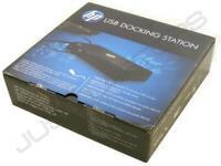 Nuovo HP USB 2.0 Docking Station Replicatore Porte + DVI + PSU Lenovo THINKPAD