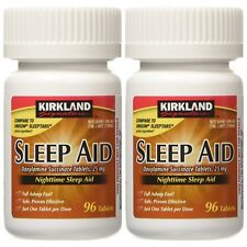 Kirkland Signature Sleep Aid Doxylamine Succinate 25 Mg 192-Tablets