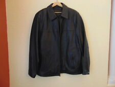 NWOT's Men's Apt.9 Leather Jacket/Coat-Large