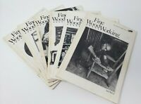 Fine WoodWorking Magazine  1980 (6) Issues 20-25