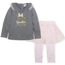 96c51f4f3 Disney Minnie Mouse Bebé Niña Ropa Conjunto Git Superior Leggings 9-36 Meses