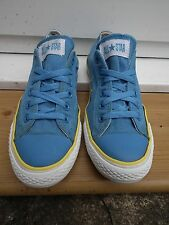 Unisex Mens Blue With yellow stripe Size UK7 EU40 All Star Converse