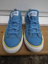 Unisex para hombre azul con rayas amarillas talla UK7 EU40 All Star Converse
