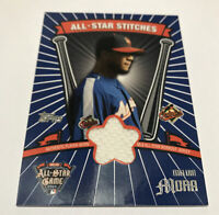 Melvin Mora Baltimore Orioles 2005 Topps Update All-Star Stitches ASR-MM jersey