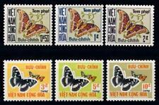 [65410] Vietnam South 1968 Postage Due Butterflies  MNH