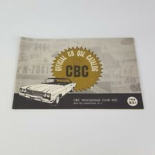 1968 CB Radio Catalog Ham Radio Operator Card CBC Wholesale Club Booklet Book