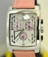 New Soft Pink Mens Giantto Angelino Swiss Chronograph Day Date Unique Watch