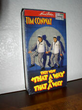 They Went That-A-Way & That-A-Way -Tim Conway (VHS,NEW)