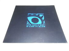 """Smith & Mighty Life Has A Way/ B-Line Fi Blow Vinyl 10"""" Record French Import"""