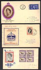 BRITISH COMM UK 1953 BARBADOS TURKS CAYMAN SOUTH AFRICA BERMUDA ANTIGUA TRISTAN
