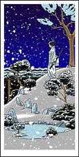 "KILL BILL ""Swan Song of Oren"" silkscreen print by Tim Doyle Nakatomi Artist"