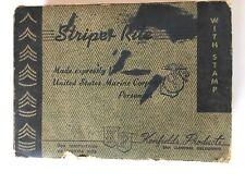 Rare & Complete 1950s USMC Enlisted Ranks Ink Marking Kit
