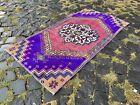 Wool Rug, Turkish rug, Vintage rug, Handmade rug, Area, Carpet | 2,0 x 3,8 ft