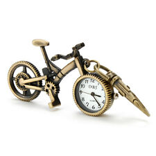 Retro metal Bicycle Key Ring Keyrings Holder Pocket Stand Watch Novelty Gift him