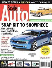 Scale Auto Enthusiast Aug 08 NASCAR Monte Carlo Camero Concept Car Chevy Impala