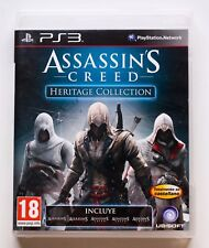 ASSASSIN'S CREED HERITAGE COLLECTION - PLAYSTATION 3 PS3 PLAY STATION PAL ESPAÑA
