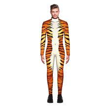 Mens Halloween 3D Print Costume Cosplay Fancy Dress Jumpsuit Zentai