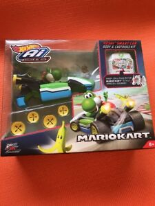 New! HOT WHEELS Ai MARIO KART YOSHI Accessory