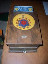 Pansy trade stimulator arcade game by Gatter Novelty. Works on a penny