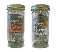 McCabe USDA ORGANIC Mexican Oregano (2-Pack) (Whole Mexican Oregano and Crushed)