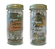 McCabe Organic Mexican Oregano (2-Pack) (Whole Mexican Oregano and Crushed)