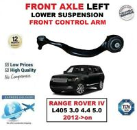 FRONT AXLE LEFT LOWER front CONTROL ARM for RANGE ROVER L405 3.0 4.4 5.0 2012->