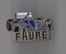 pin's Faure / Formule 1