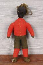 Antique Maritime Folk Art Sailor's Knot Doll