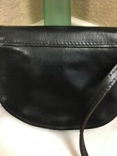 MADE IN ITALY QUALITY LEATHER FLIP ADJUSTABLE STRAP CROSS BODYBAG S