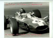 Graham Hill Lotus 49 British Grand Prix 1967 Rare Photograph