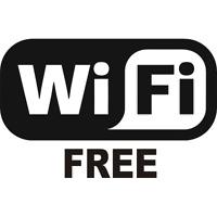 Free Wifi Business Decal Vinyl Sticker Window Wall Car Sign Logo Emblem Store