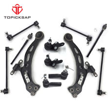 12 Pc Kit Front Control Arms Ball Joints Tie Rod Toyota/Lexus Camry ES300 Avalon