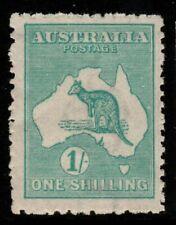 More details for australia sg40 1916 1/= blue-green mnh toned