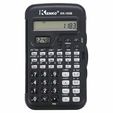 KENKO Student Electronic 10 Digits Scientific Calculator Calculator with Cl B3U5