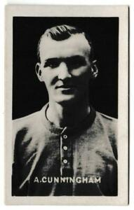 Champion - 'Famous Football Captains' (1923) - Card #54 - Andrew Cunningham