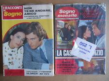 BUSTA anni 70 di 2 Fotoromanzi Sogno Mensile 105 + I Racconti di Sogno 90  [C94]