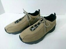 Ecco Receptor Suede Leather Lace Up Walking Sneakers Women Size 6-6.5 US 37 EUR