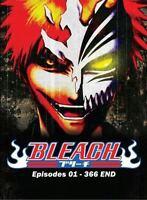Bleach (VOL.1 - 366 End) ~ English Version ~ All Region ~ Brand New ~ Free Bonus