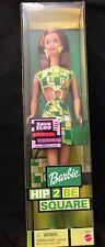 New NIB Hip 2 Be Square Barbie Doll 28316 Mattel 2000 Green Dress Mattel