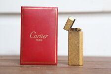 Cartier Lighter Gold Vintage PLAQUE OR G with original Cartier red box Art Deco