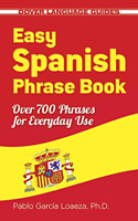 Learning Spanish Book Language Easy Phrase Learn Study Paperback by Pablo Garcia
