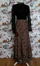 *Per Una* Victorian Steampunk Lolita Goth Belle Epoque Customised Skirt Size 12L